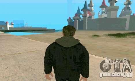 Arnold Schwarzenegger Terminator Genisys для GTA San Andreas третий скриншот