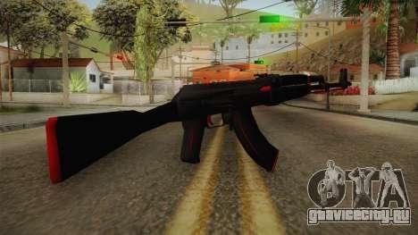 CS: GO AK-47 Redline Skin для GTA San Andreas второй скриншот