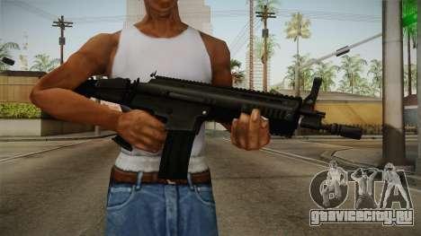 Mirror Edge FN SCAR-L для GTA San Andreas третий скриншот