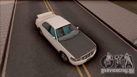 Dundreary Admiral RS для GTA San Andreas вид справа