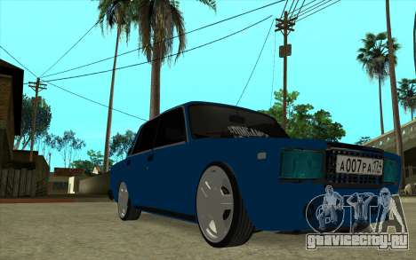 ВАЗ 2107 Белок [v1.0] для GTA San Andreas вид справа