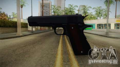 Mirror Edge Colt M1911 v1 для GTA San Andreas второй скриншот
