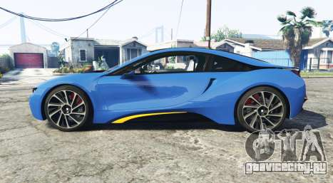 BMW i8 (I12) 2015 [add-on] для GTA 5 вид слева
