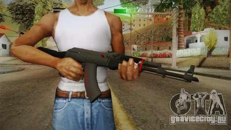 CS: GO AK-47 Redline Skin для GTA San Andreas третий скриншот