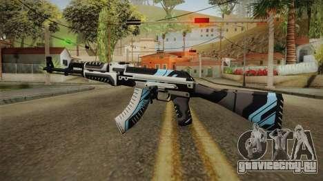 CS: GO AK-47 Vulcan Skin для GTA San Andreas второй скриншот
