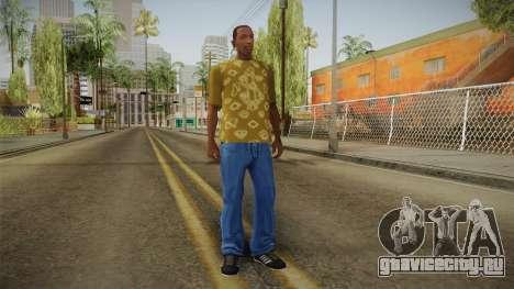 GTA 5 Special T-Shirt v8 для GTA San Andreas третий скриншот