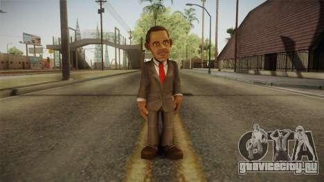 Barack Obama DD Skin для GTA San Andreas второй скриншот