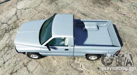 Dodge Ram 1500 1999 [add-on] для GTA 5 вид сзади