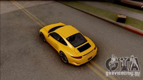 Porsche 911 R для GTA San Andreas вид сзади