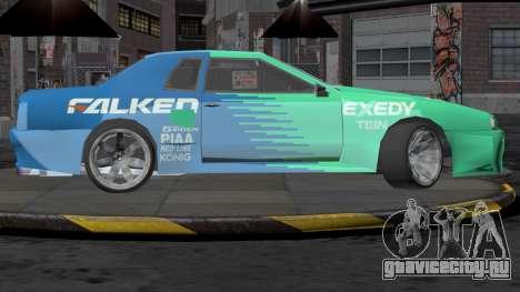 Annis Elegy RH-7 для GTA San Andreas вид слева