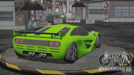 Progen GP1 SA Style для GTA San Andreas вид слева