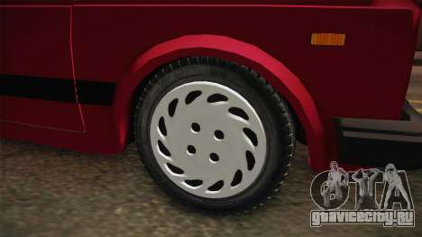Zastava-Fiat 128 для GTA San Andreas вид сзади