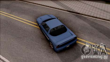 BlueRay Dodge Infernus для GTA San Andreas вид сзади