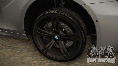 BMW M6 Coupe (F13) для GTA San Andreas вид сзади
