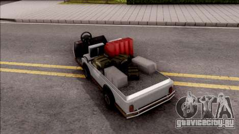 Caddy from GTA 5 DLC GunRunning для GTA San Andreas вид слева