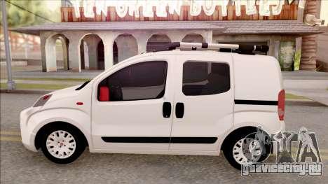 Fiat Fiorino для GTA San Andreas вид слева