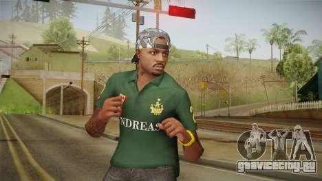 GTA 5 Online Guillermo Skin для GTA San Andreas