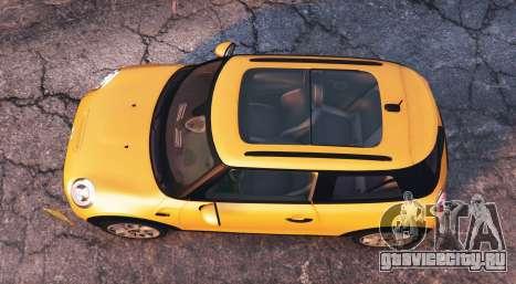Mini Cooper S (F56) 2015 [add-on] для GTA 5 вид сзади