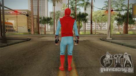 Marvel Heroes Omega - Homemade Suit v1 для GTA San Andreas третий скриншот