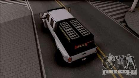 GMC Topkick C4500 Off-Road для GTA San Andreas вид сзади