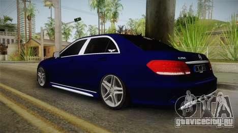 Mercedes-Benz E250 Noyan для GTA San Andreas вид слева