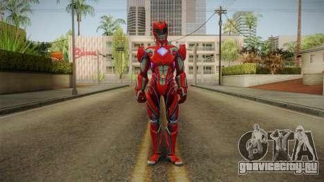 Red Ranger Skin для GTA San Andreas второй скриншот