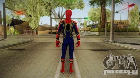 Marvel Cinematic Universe - Ironspider для GTA San Andreas третий скриншот