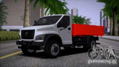 GAZon Next Бортовой для GTA San Andreas
