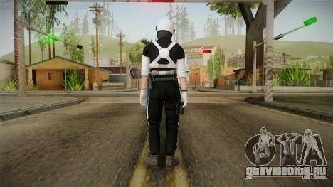 Mirror Edge Riot Cop v1 для GTA San Andreas