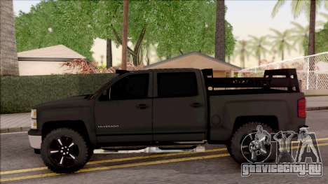 Chevrolet Silverado 2015 Off-Road для GTA San Andreas