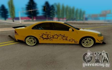 Nissan Almera для GTA San Andreas вид слева