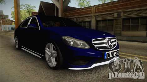 Mercedes-Benz E250 Noyan для GTA San Andreas вид справа