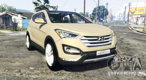Hyundai Santa Fe (DM) 2013 [add-on] для GTA 5