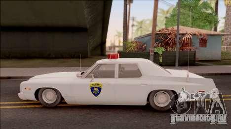 Dodge Monaco Montana Highway Patrol v2 для GTA San Andreas вид слева