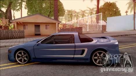 BlueRay Dodge Infernus для GTA San Andreas вид слева