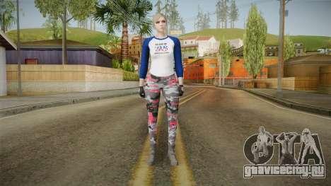 Gun Running Female Skin для GTA San Andreas второй скриншот