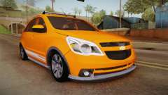 Chevrolet Agile Crossport Edition для GTA San Andreas