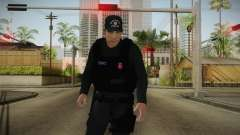 Turkish Police-Rapid Response Unit-Long Sleeves для GTA San Andreas