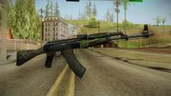 CS: GO AK-47 Emerald Pinstripe Skin для GTA San Andreas