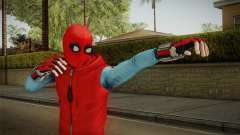 Marvel Heroes Omega - Homemade Suit v1 для GTA San Andreas