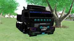 KAMAZ 65115 BLACK NIGHT для GTA San Andreas