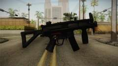 Mirror Edge HK MP5K-PDW для GTA San Andreas