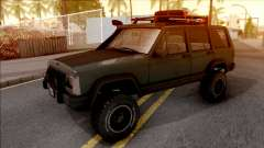Jeep Cherokee 1984 Off-Road