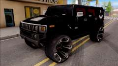 Hummer H2 Batman Edition для GTA San Andreas