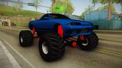 Nissan Skyline R32 Pickup Monster Truck для GTA San Andreas