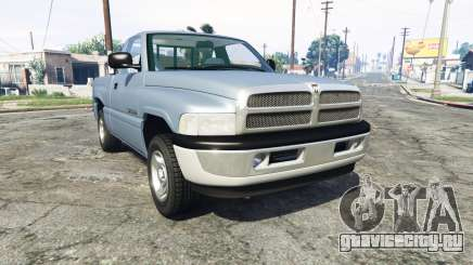 Dodge Ram 1500 1999 [add-on] для GTA 5