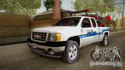 GMC Sierra San Andreas Police Lifeguard 2010 для GTA San Andreas