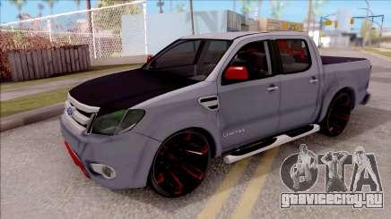 Ford Ranger 2014 Edition Flux Som для GTA San Andreas