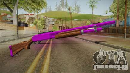 Purple Shotgun для GTA San Andreas