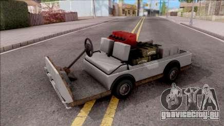 Caddy from GTA 5 DLC GunRunning для GTA San Andreas